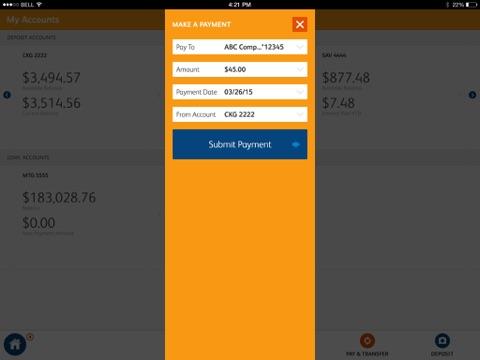 SunTrust Tablet App screenshot 3