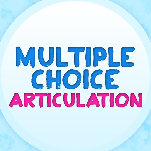 Multiple Choice Articulation for Speech Therapy