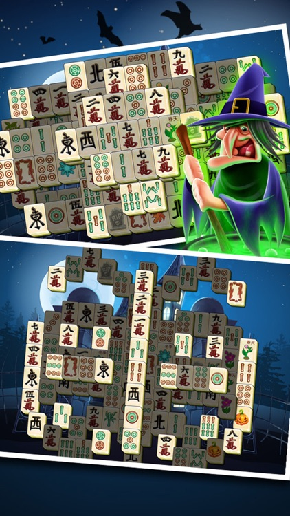Scary Halloween Mahjong - Spooky Winter Majong Pro by Candy Games