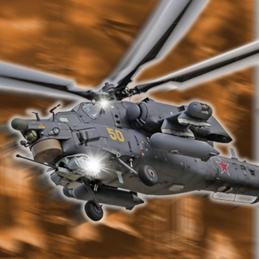Accelerate Helicopter War : Addictive Air iOS App