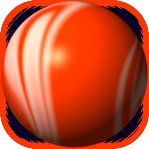 Orange Bouncing Ball