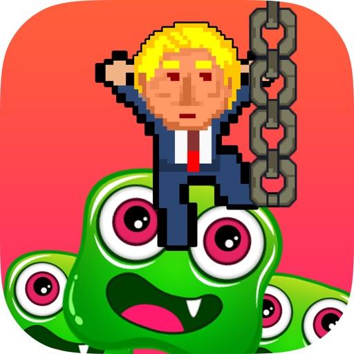 Gravity Trump - Highrise Hillary iOS App