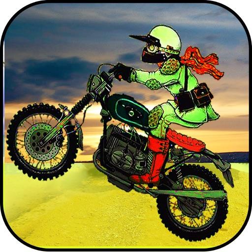 Мотокросс испытания: Stunt Bike Racer