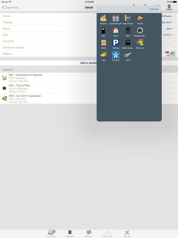 My iExpenses Pro Screenshots