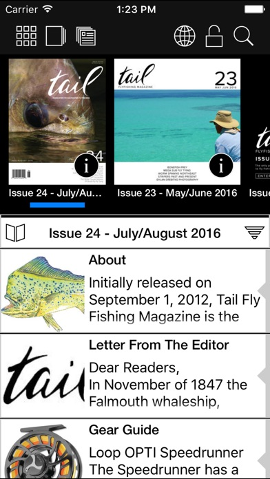 Tail Fly Fishing Magazine review screenshots