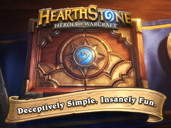 Screenshots of Hearthstone for iPad