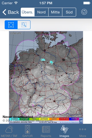 Flugwetter screenshot 4