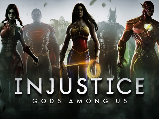 Injustice: Gods Among Us iPad