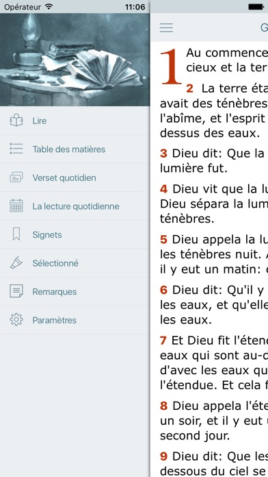 download La Bible Louis Segond - Audio Holy Bible in French apps 0