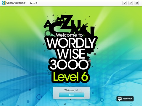 Wordly Wise 3000® Online screenshot 1