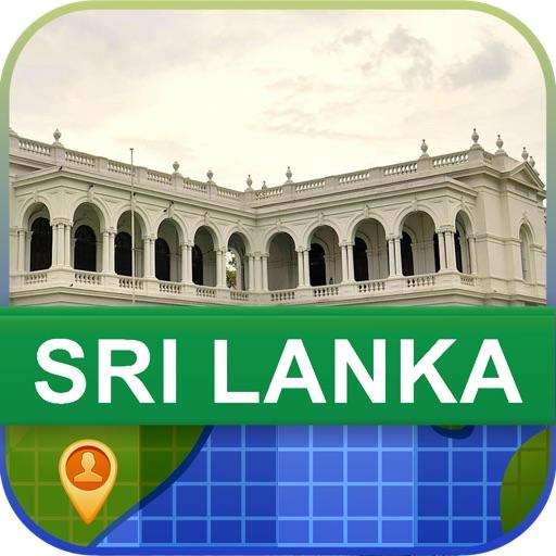 当前离线 斯里兰卡 地图 – World Offline Maps