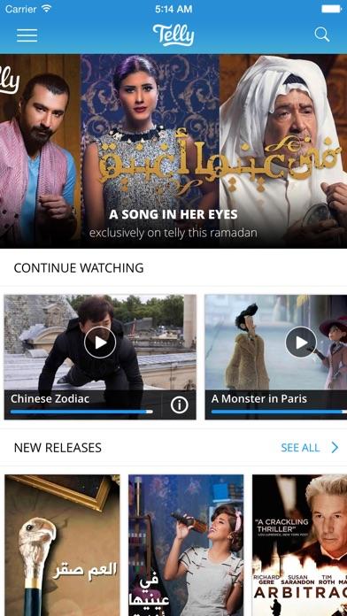 Telly - Watch Unlimited TV & Moviesلقطة شاشة3