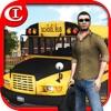 Crazy School Bus Driver 3D HD