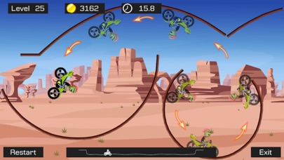 Top Bike - Best Motorcycle Stunt Racing Game Скриншоты6