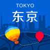 东京中文离线地图-旅游交通指南@求攻略,日本东京自由行,地铁火车路线,机场地图