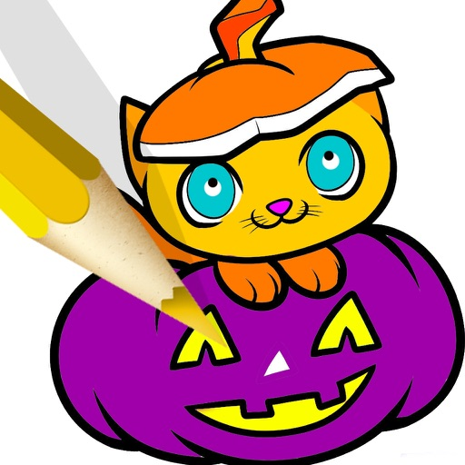 Halloween Pages Coloring Book