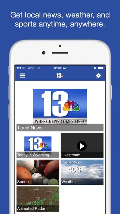 KCWY NewsScreenshot of 1