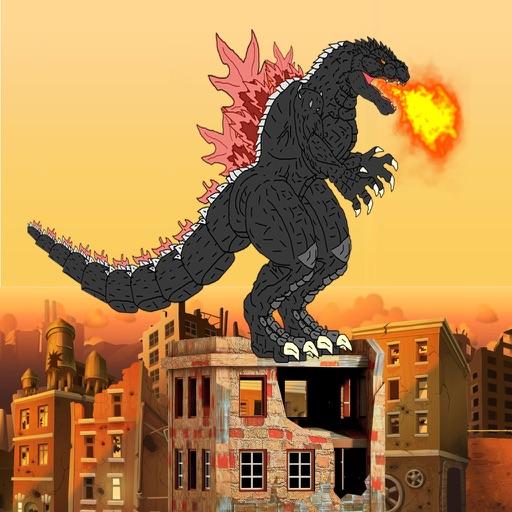 Flying Beast: Godzilla version iOS App