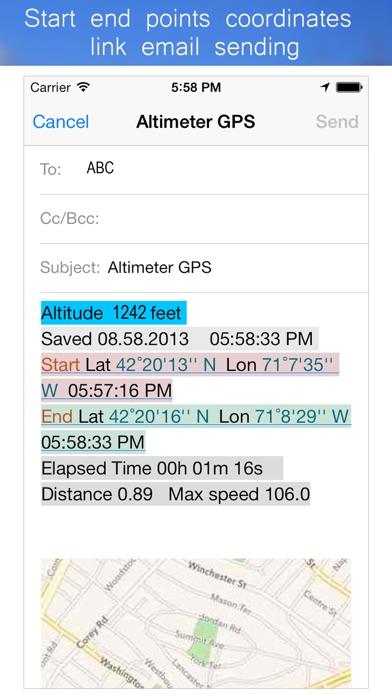 Altimeter offline z1 Screenshots