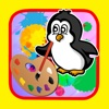 Drawing Painting Penguins Kids Edition Game penguins game