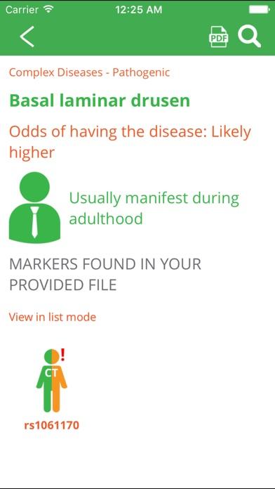Genomapp, Squeeze your DNAScreenshot of 2