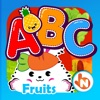 ABC Fruits & Vegetables English Flashcards