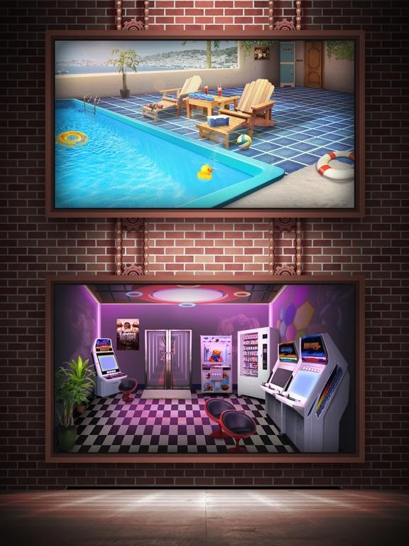 Escape Room:100 Rooms 10 (Doors, and Floors games)-ipad-2