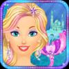 Peachy Games LLC - Ice Princess Mermaid Salon: Girls Makeover Games artwork