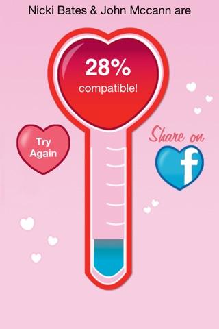 The Love Calculator screenshot 4
