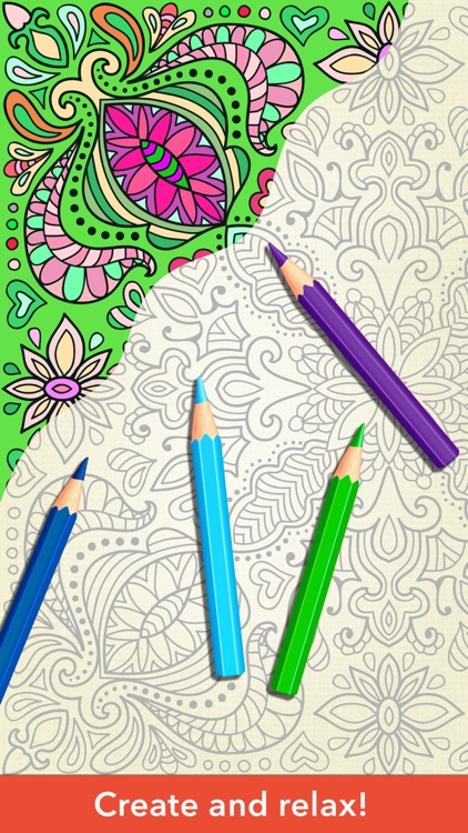 zen coloring book for adults by adult coloring book apps llc - How To Make A Coloring Book App