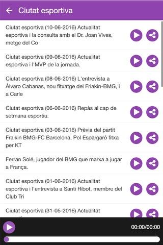 Ràdio Granollers screenshot 4