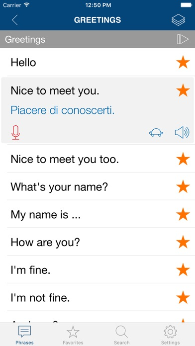 Learn Italian Phrases Words On The App Store - 10 important phrases to learn for your trip to rome