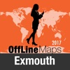 Exmouth 離線地圖和旅行指南
