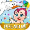 Storks Coloring Book for kids - Premium Wiki