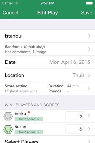 Board Game Stats screenshot 3