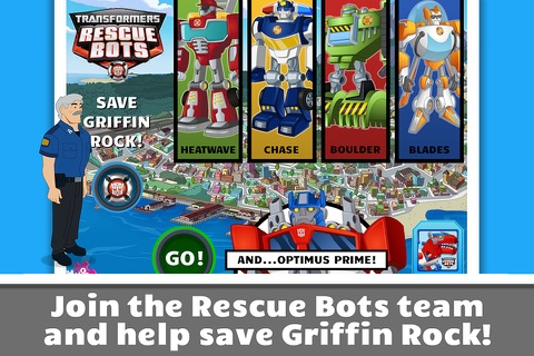 Transformers Rescue Bots: Save Griffin Rock screenshot 1