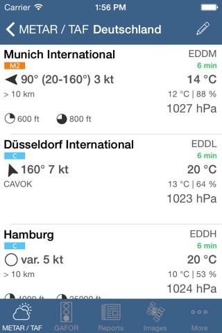 Flugwetter screenshot 1