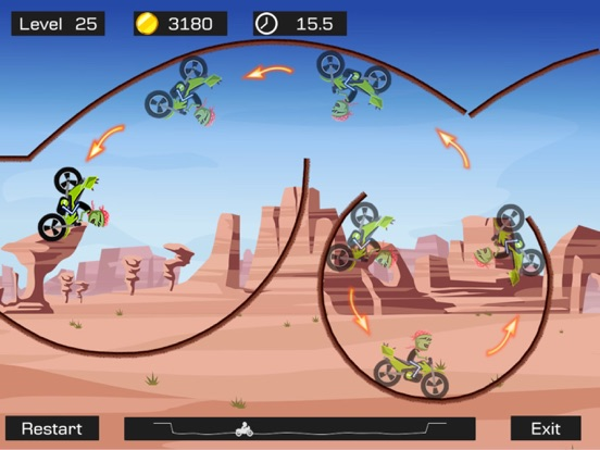 Top Bike - Best Motorcycle Stunt Racing Game Скриншоты9
