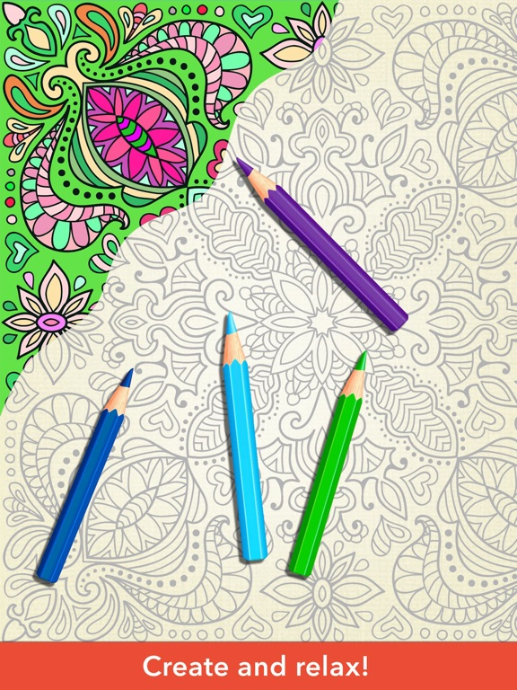 Zen Coloring Book For Adults On The App Store