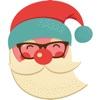 聖誕快樂 - 貼紙