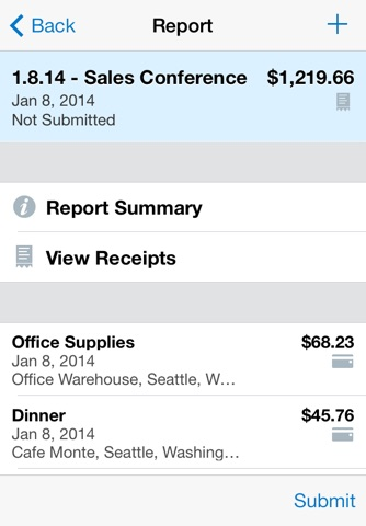 Concur - Travel and Expense screenshot 2