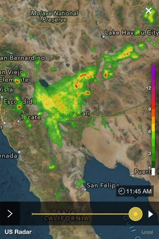 Yahoo Weather screenshot 4