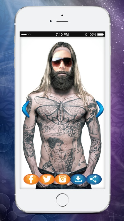 My Tattoo Cam Photo Booth Body Art Studio Game By Andrej Jankovic