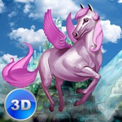 Flying Pony: Small Horse Simulator 3D Full