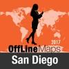 聖地牙哥 離線地圖和旅行指南