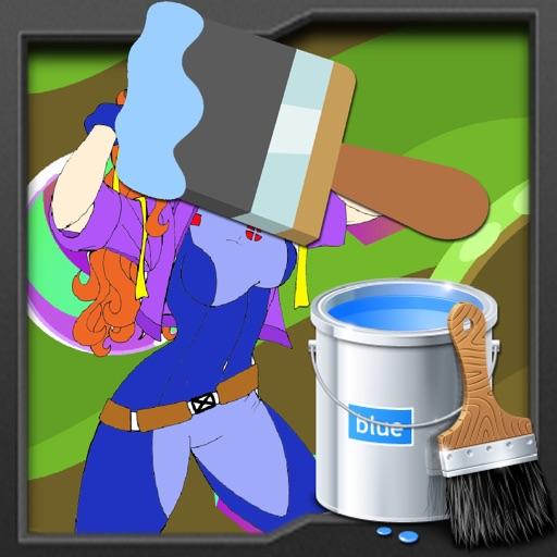 Paint Games rogue Version iOS App