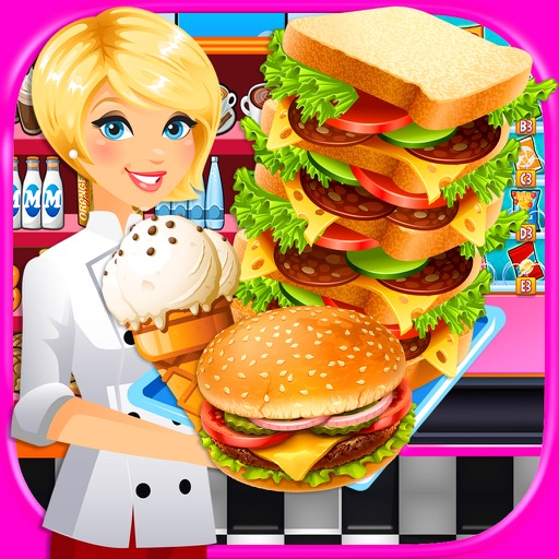 School Lunch Cafeteria Food Maker - Cooking Games iOS App