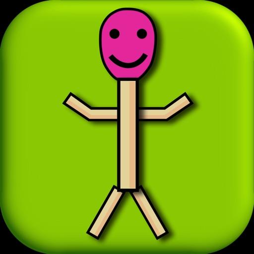 Match StickMen! iOS App