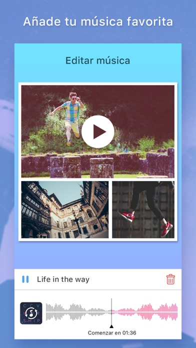 Screenshot for Photo & Video Collage Maker in Spain App Store
