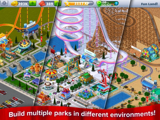 RollerCoaster Tycoon® 4Mobile™ Screenshots